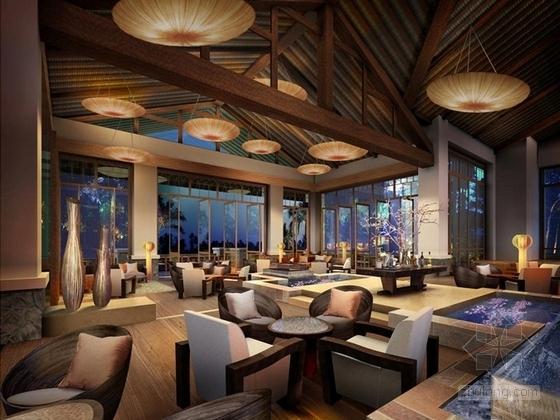 [三亚]原始热带天堂品牌国际连锁度假酒店效果图