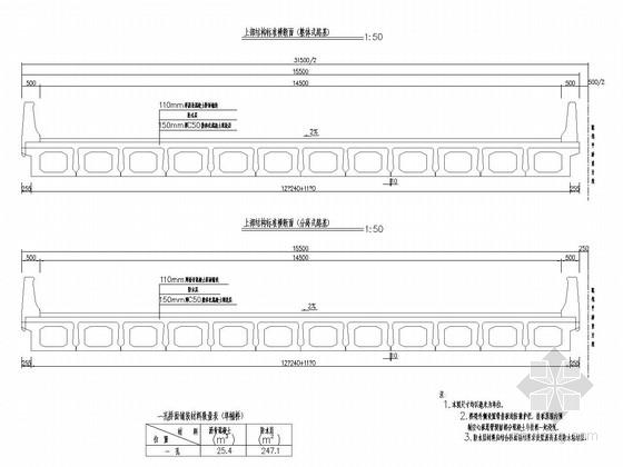 [广东]跨径16m装配式预应力混凝土空心板桥通用图67张(路基32m 斜度15°)