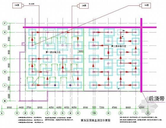 [深圳]办公楼地下室底板施工方案(筏板基础)