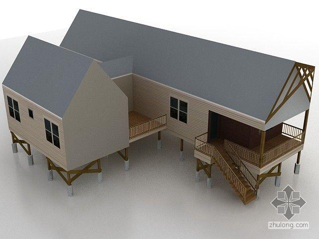 木制小阁楼