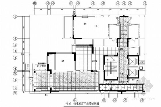 成都高层住宅cad资料下载-[成都]花园小区高层住宅楼室内施工图