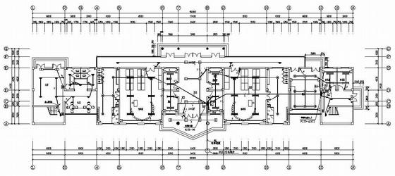 某四层农民公寓强电施工图
