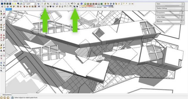 干货 SketchUp+photoshop快速渲染制作建筑景观效果图教程_2