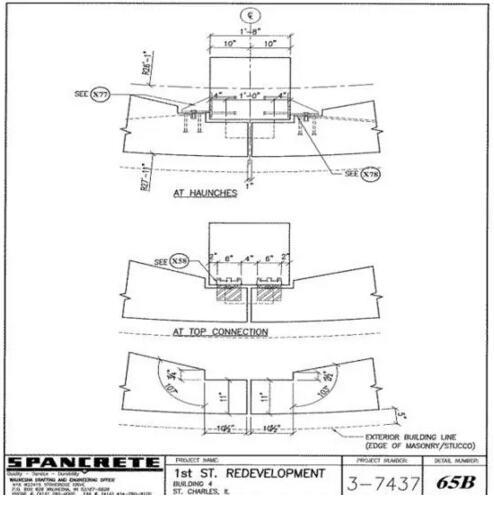 美国预制混凝土在立体停车场的运用案例(附图纸)_24
