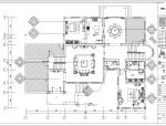 福州某欧式别墅室内设计施工图及效果图