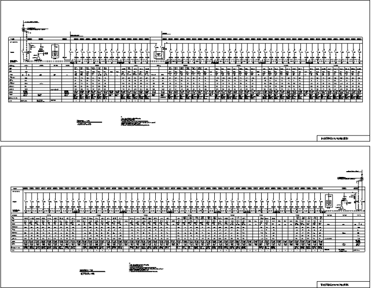 U型槽框架桥设计图纸资料下载-医护综合楼工程变配电所设计图纸