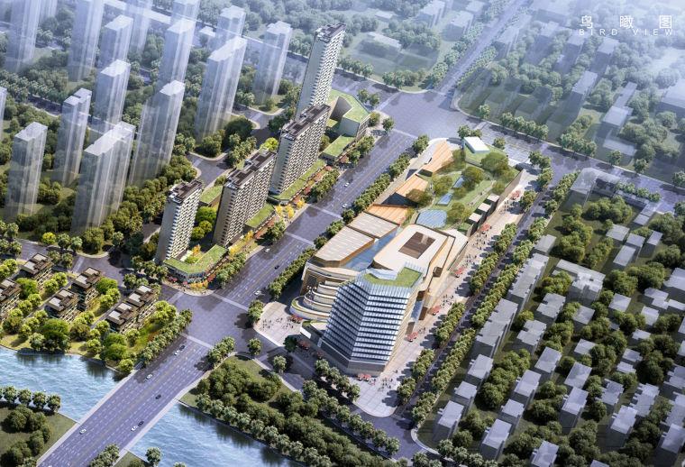 [江苏]南京龙湖滨水居住区及绿色商业综合体建筑设计方案文本(购物中心,滨水空间)