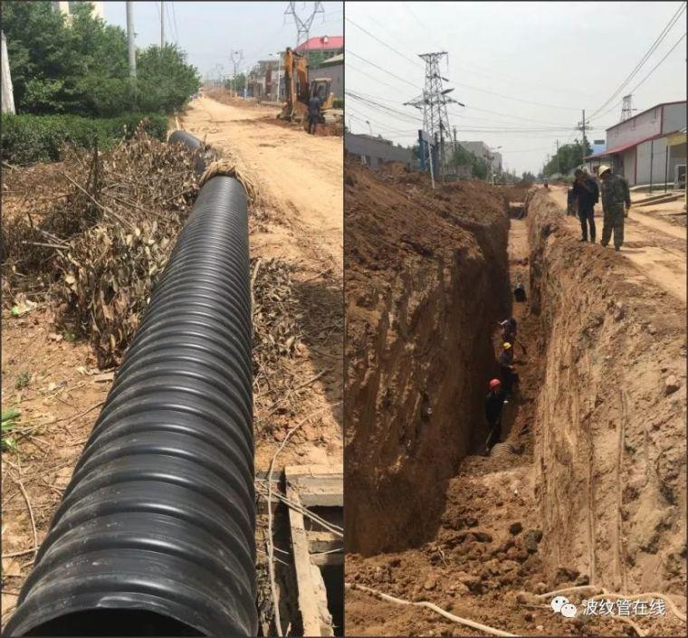 市政道路排水管线施工流程