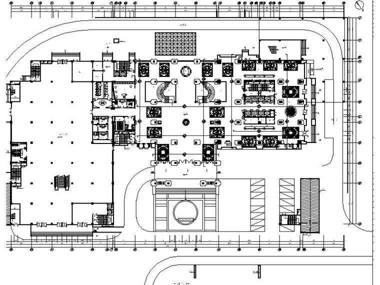 [重庆]欧式奢华酒店设计施工图(含效果图)