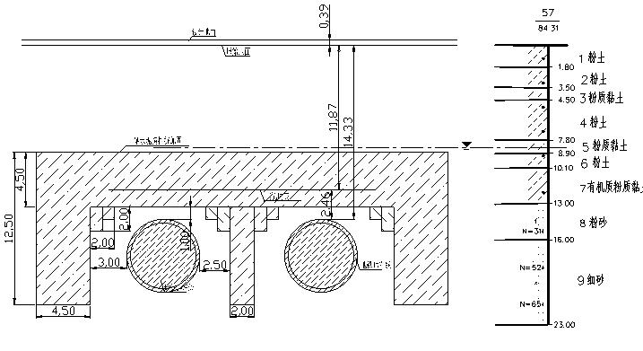 明挖隧道上跨地铁1号线盾构隧道专项安全施工方案_3