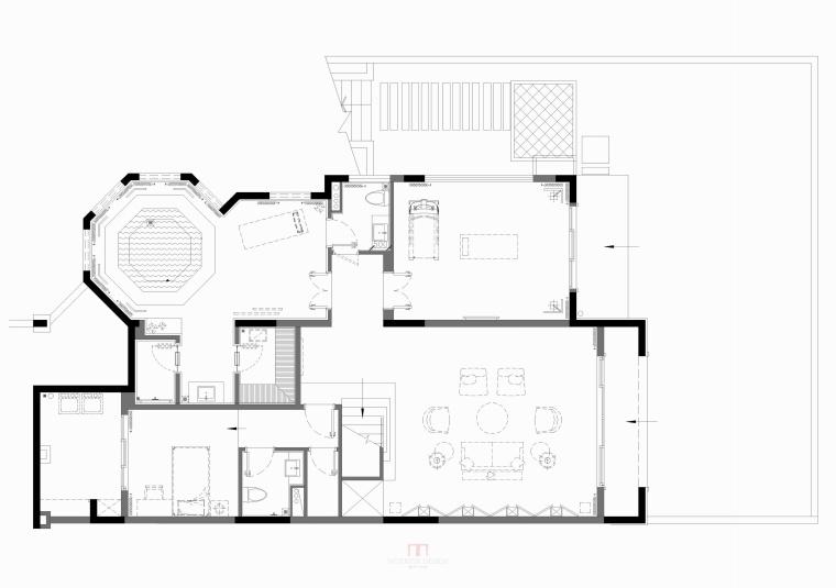 壹城A5区G10-02单元别墅样板房 平面图(26)