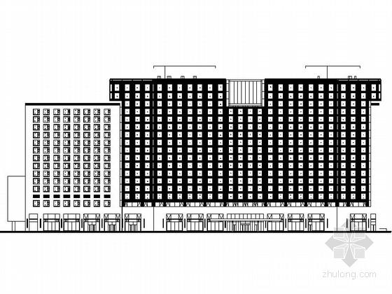 [北京]某十七层商业综合楼建筑施工图