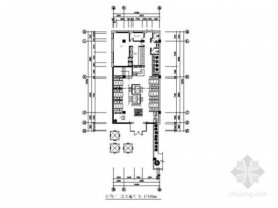 [成都]混搭时尚火锅店室内施工图(含效果图)