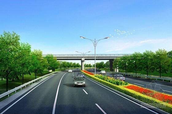 [深圳]市政道路(含人行天桥)工程招标文件(含合同 82页)