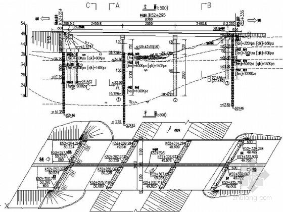 [湖北]国道三跨预应力后张小箱梁桥施工图设计(81张 知名大院)