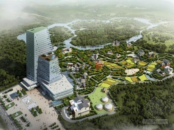 [四川]民族文化旅游区规划及单体设计方案文本(含su模型)