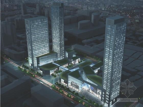 [成都]超高层现代风格商业综合体建筑设计方案文本(多个方案)