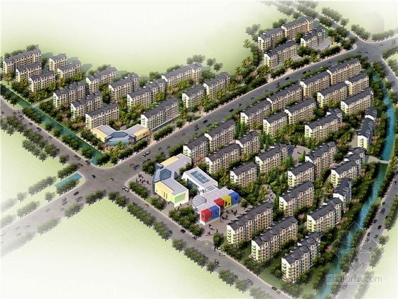 [江苏]现代风格住宅小区规划设计方案文本