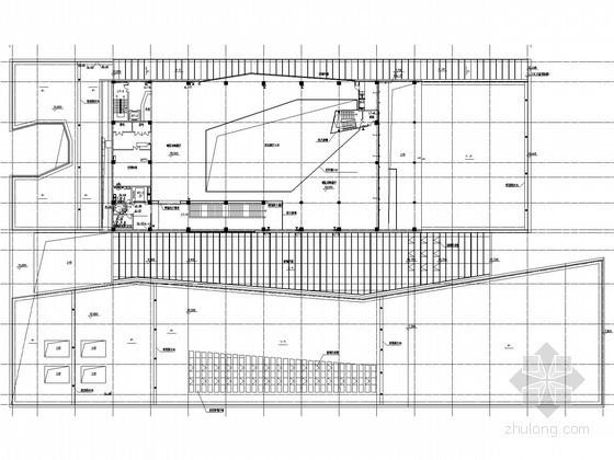 [安徽]博物馆给排水消防施工图(虹吸雨水 喷淋系统)