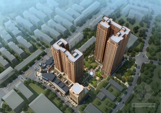 [成都]现代风格高端城市综合社区建筑设计方案文本
