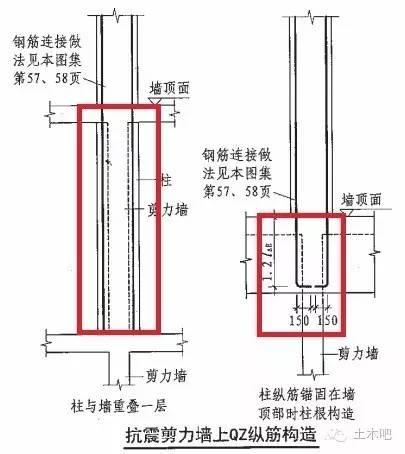 梁上柱、墙上柱与框支柱详解_5
