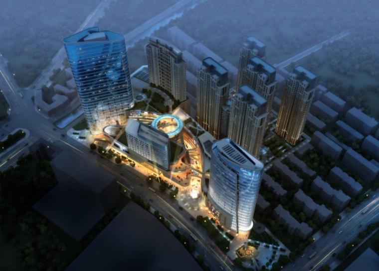 徐州中茵55广场城市综合体概念设计方案文本