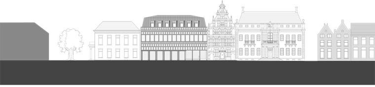 全新代芬特尔市综合体建筑立面图 (22)