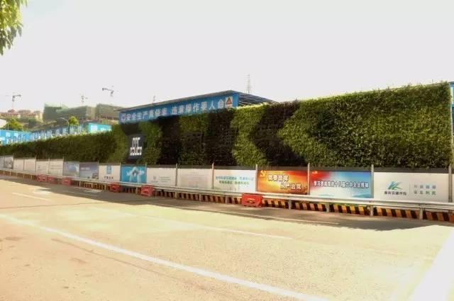 重庆最美绿色地铁工地,速来围观!
