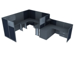 简单服务台3D模型下载