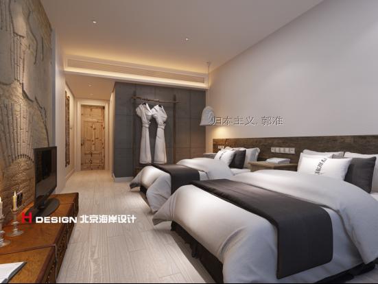 北京瓦竹精品酒店资料下载-精品酒店设计-陕西H酒店