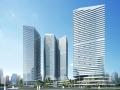 [合集]3套高层现代感公寓建筑设计方案文本