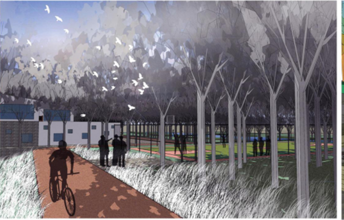 [山东]城市水系及重点地段水域景观概念规划设计方案