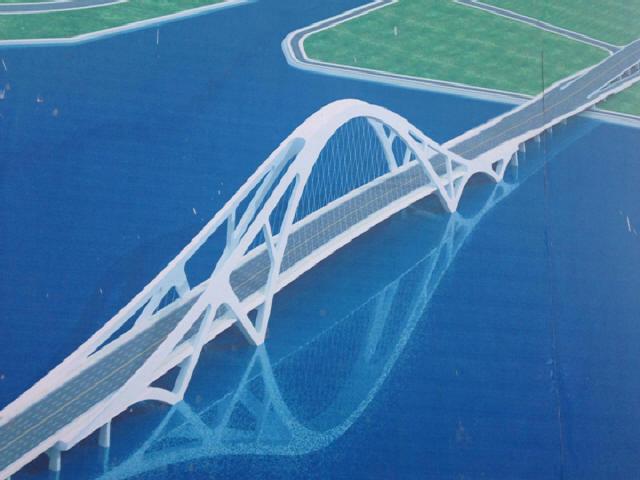 跨河桥节段拼装整体提升系杆拱桥与连续梁组合体系钢结构施工方案263页(附图丰富)