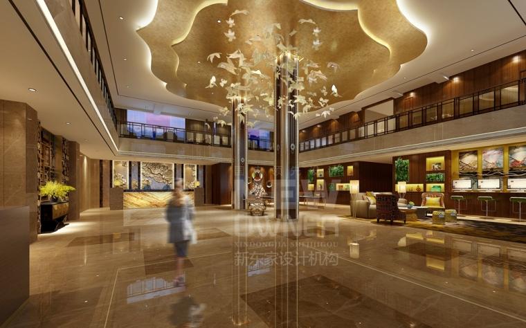理县古尔沟诗曼温泉酒店设计-成都酒店装修设计_2