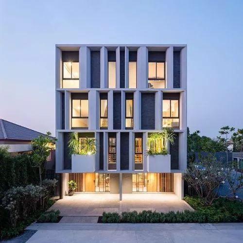多层建筑的造型如何处理?(33例)_31