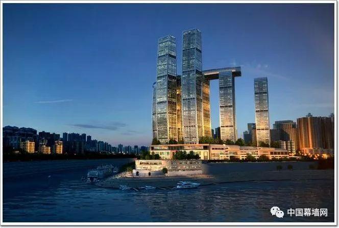 重庆来福士广场空中连廊项目——BIM指导施工
