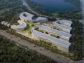 [上海]生态风格海洋观测基地实验楼及生活服务楼方案文本+设计说明+立面后期(PDF+PSD)