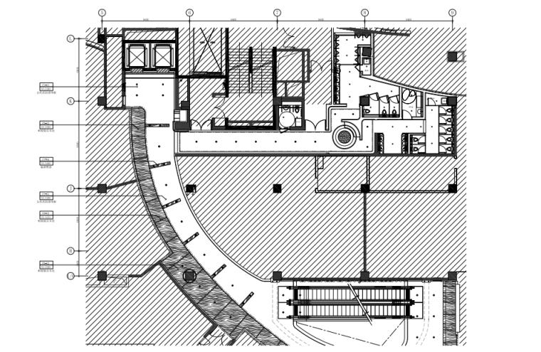 [福州]三层现代风格中心商场施工图(含效果图+SU模型)_3