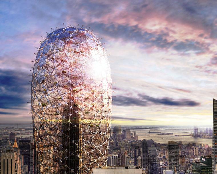 IFLA获奖作品集合资料下载-2016摩天大楼设计竞赛eVoloSkyscraperCompetition获奖作品