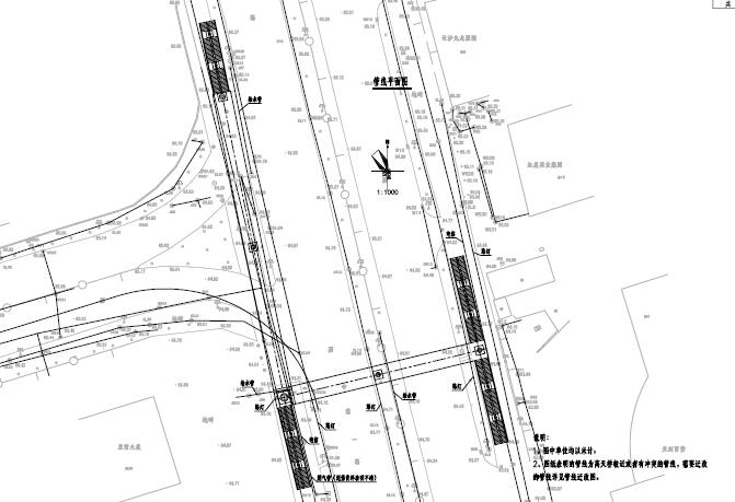 2017年设计不对称跨径39+39m带顶棚钢箱梁L型人行天桥设计图纸81页_4