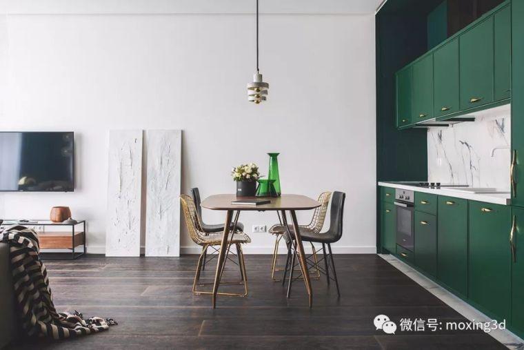 色彩灵动的北欧简约公寓,无可挑剔的美_5