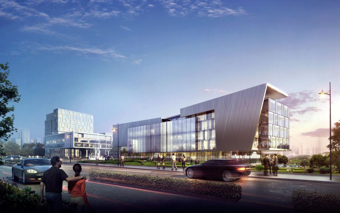 [方案][重庆]后现代感文化产业园建筑设计方案文本(国内知名设计公司)图片