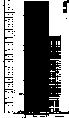 178米39层超高层办公商业酒店全套CAD施工图(著名设计院)