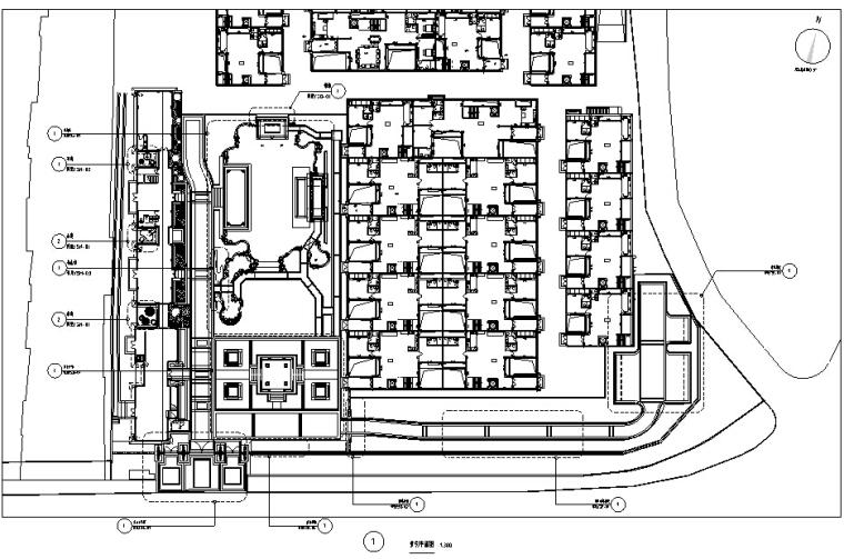 [江苏]南京新中式高端别墅居住示范区全套施工图