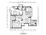 简欧风格复式楼施CAD施工图(含效果图)