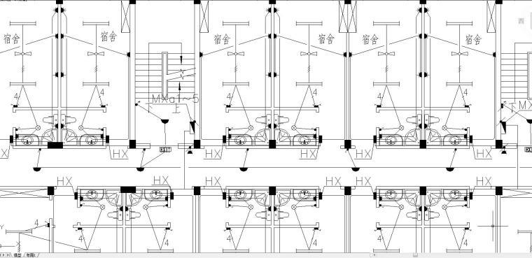 某集体宿舍电气施工图