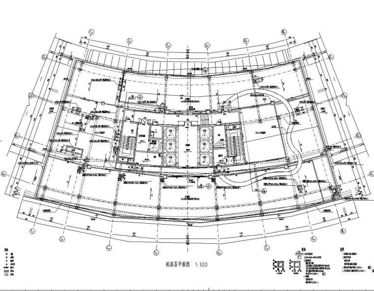 [浙江]某市市民中心楼房建筑施工图cad(56个文件夹)_5