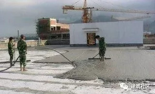 建筑工程——屋面泡沫混凝土施工工法!