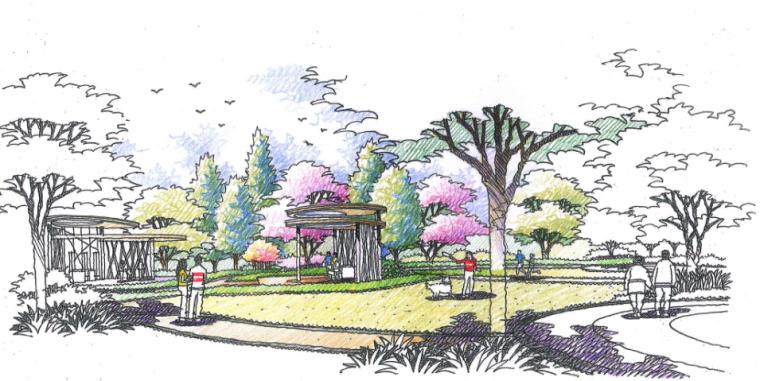 [广东]佛山现代风格商住两用房景观设计方案