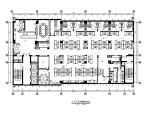 某现代简约办公楼设计CAD施工图(含效果图)